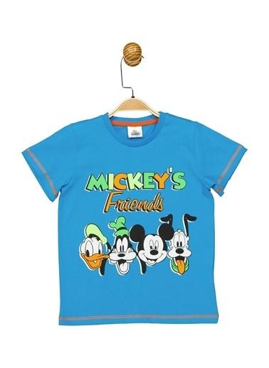 Mickey Mouse Tişört Turkuaz